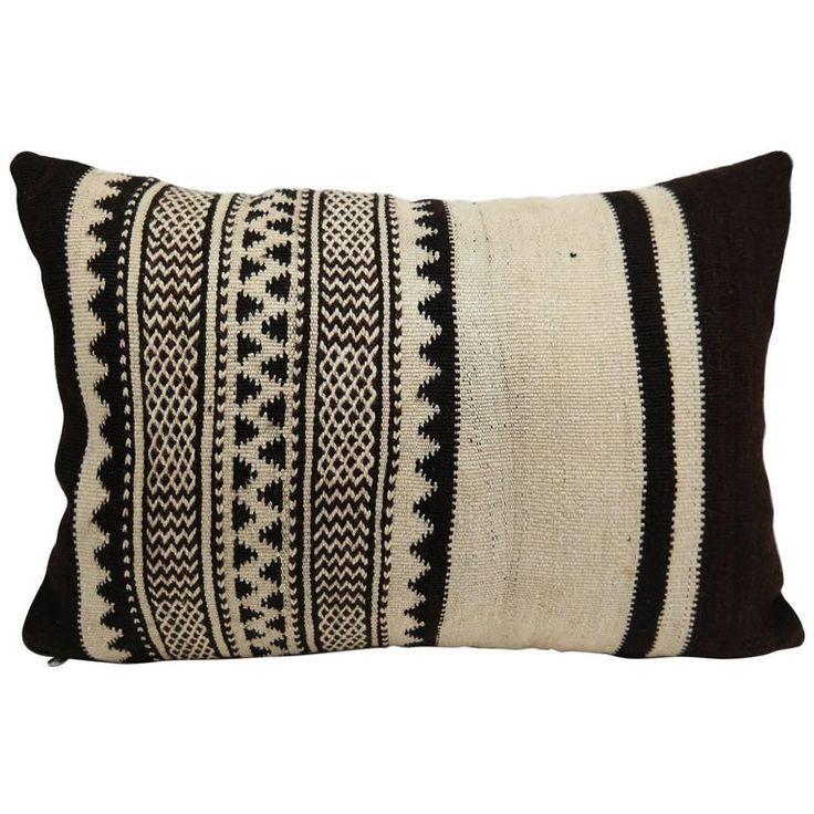 Moroccan Tribal Pillow Vintage Kilim Cushion From Morocco In 2020 Tribal Throw Pillows Tribal Pil Tribal Throw Pillows Tribal Pillow Vintage Pillows