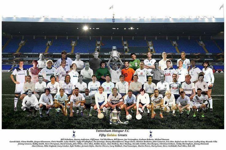 Tottenham Hotspur 50 Golden Greats.