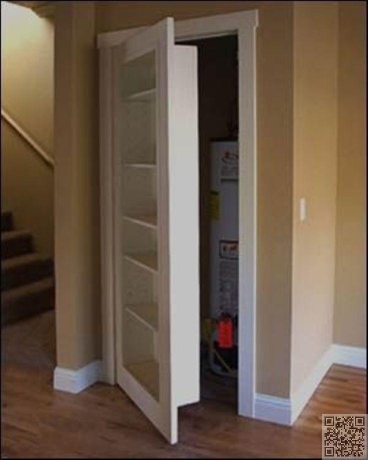 9. #remplacer une porte de #placard avec une porte de #bibliothèque -…: