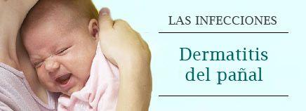 La dermatitis del pañal es una inflamación muy habitual en los bebés que provoca que la piel se irrite, se enrojezca, se descame y escueza. En la mayoría de los casos, la erupción se produce cuando la piel del bebé se irrita por llevar los pañales demasiado apretados, por llevarlos puestos durante demasiado tiempo después de ensuciarlos o porque el bebé es sensible a determinadas marcas de detergente para lavar la ropa, pañales o toallitas higiénicas para bebés.