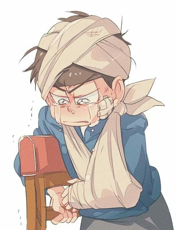 Pobre :'(  Karamatsu Necesita más Love~