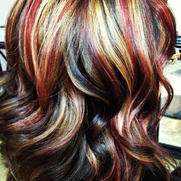 Tri Color Hair Highlights Ideas Rachael Edwards