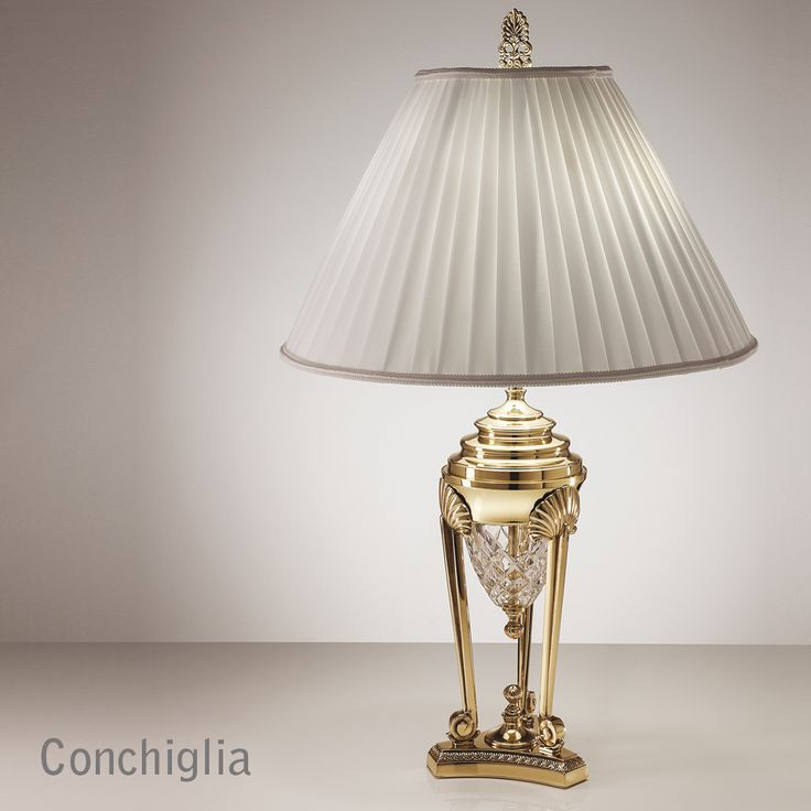 Conchiglia classic table lamp zonca zoncalighting