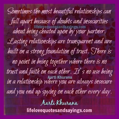 Quotes About A Relationship Falling Apart: Pin By Barbara Walters On RELATIONSHIP QUOTES