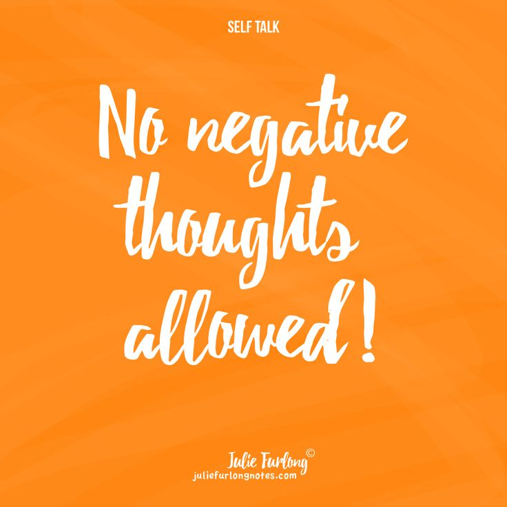 Make your negative thoughts something of the past. Take a look: juliefurlongnotes.com