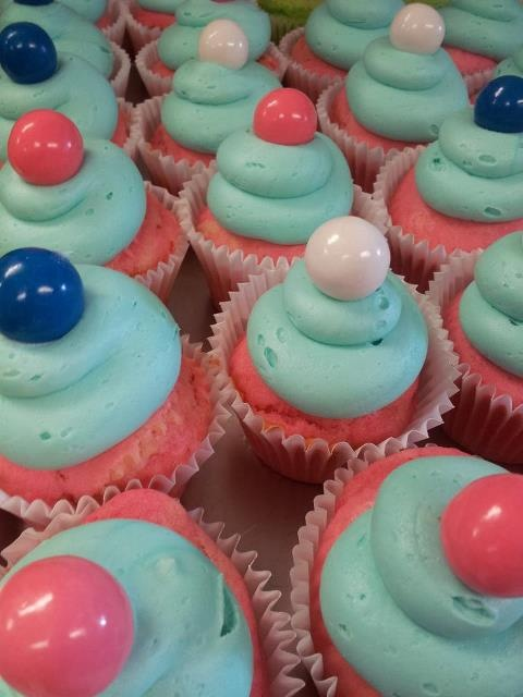 Bubblegum Cupcakes by Vintage Cupcake Co.
