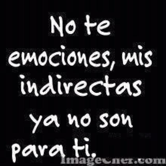 Ni te emociones