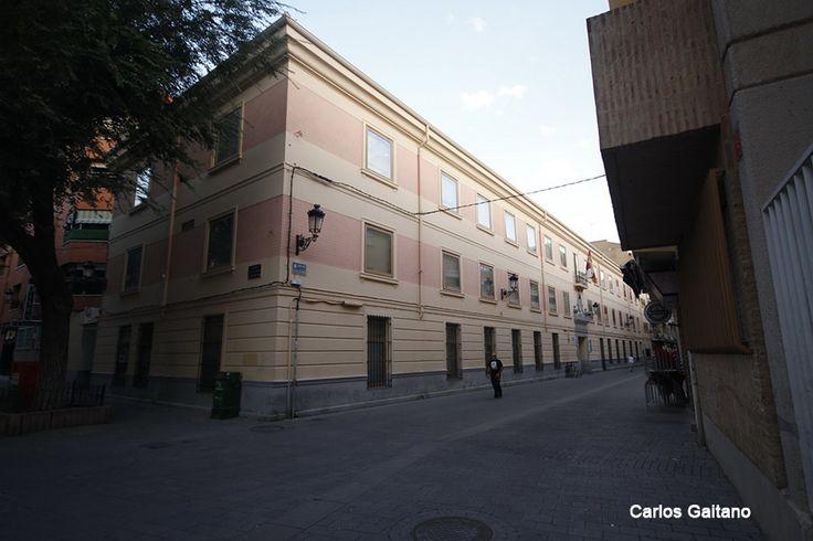 "23/08/2013 Conservatorio Profesional de Música ""Tomás de Torrejón y Velasco"". Calle Zapateros"