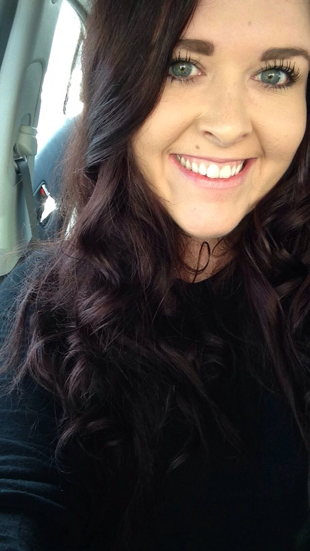 Dark Brown Hair With A Bit Of Red Tint Hair Pinterest