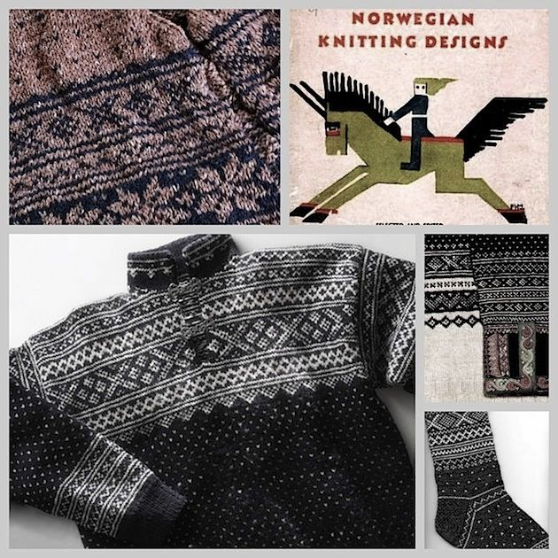 Knit your own traditional Seterdal cardigan.