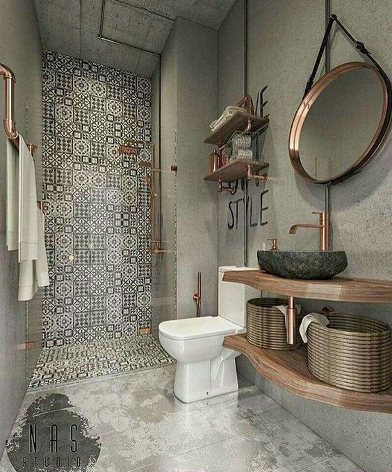 60 Elegant Small Master Bathroom Remodel Ideas 15 En 2019: 48 AWESOME BATHROOM BOHO-CHIC DETAIL CONCEPT IDEAS