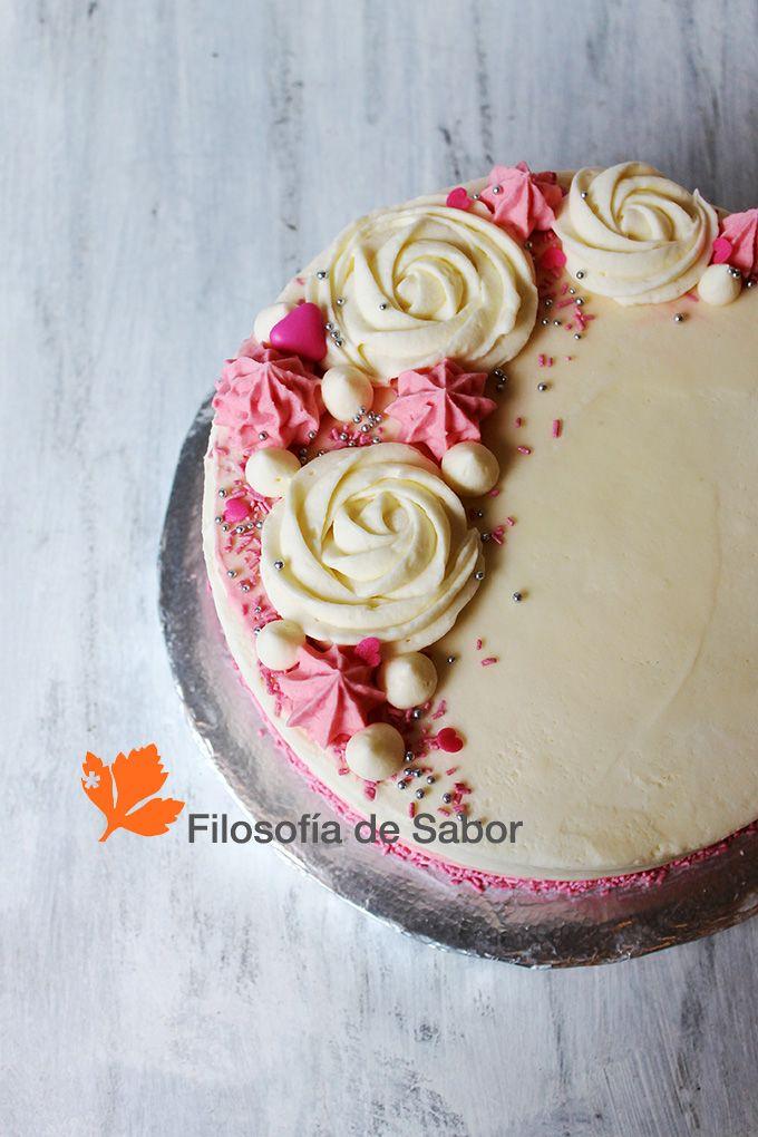 Torta Flores Buttercream de Vainilla