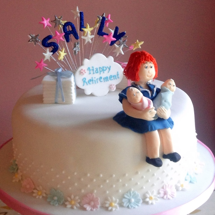 Retirement cake for a midwife
