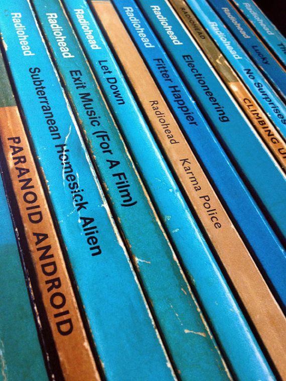 Radiohead 'OK Computer' Album As Books Poster by StandardDesigns