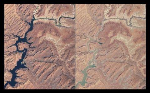 Lago Powell, entre Arizona y Utah