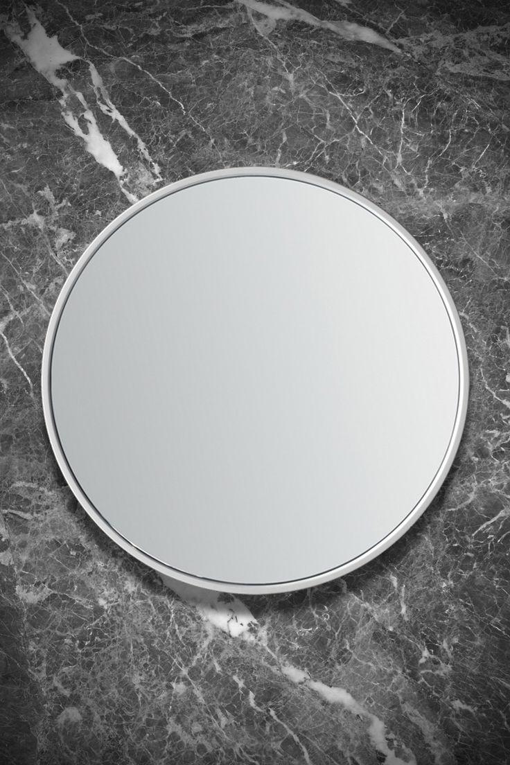 Specchio Giotto Con cornice in ADsurface (diametro 70 cm)