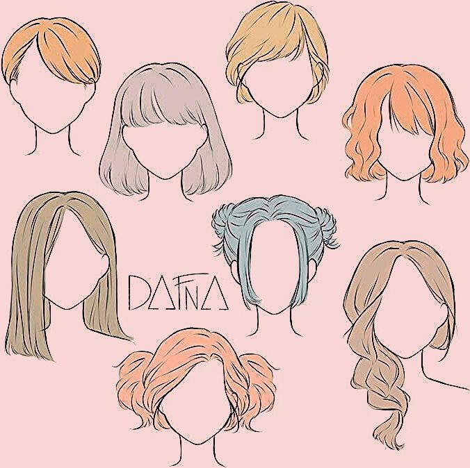 Frisur Zeichnen Frisur Sammlung Haar Zeichnen Frau Frisur Zeichnen Frisur Sammlung Anime Hair Drawing Hair Tutorial Sketches Of Girls Faces