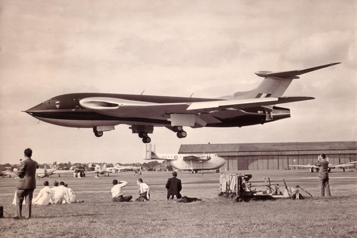 'Handley Page Victor', Farnborough Air show, UK , 1953