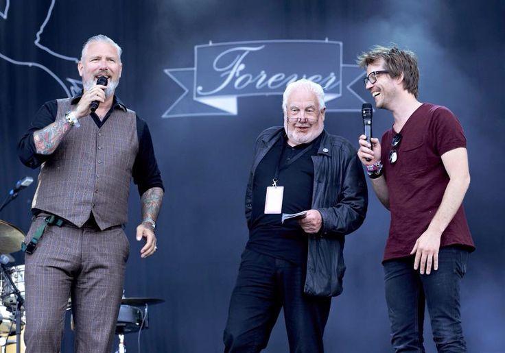 Eric Corton, Jan Smeets en Giel Beelen, vrijdag 10 juni 2016
