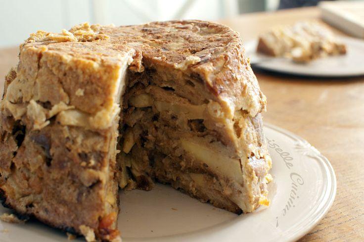 Pour changer du pain perdu, faites un pudding avec vos restes de pain. C'est facile, voilà la recette en détails.