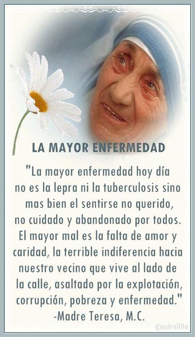 DERECHO A VIVIR Y SER AMADO: Pensamientos de la Beata Madre Teresa de Calcuta