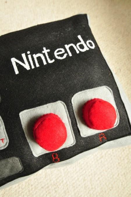 Nintendo Controller Cushion