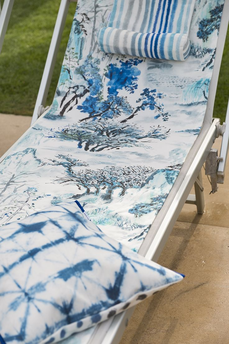 Designers Guild Jade Temple outdoor fabric