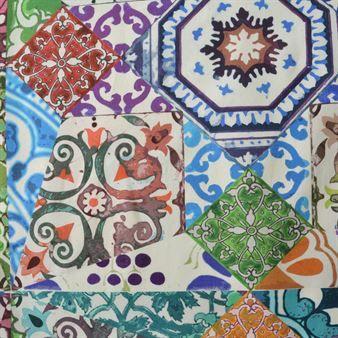 Mosaik fabric from Boel