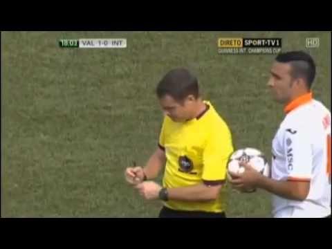 Valencia 4 0 İnter ( Maç Özeti)