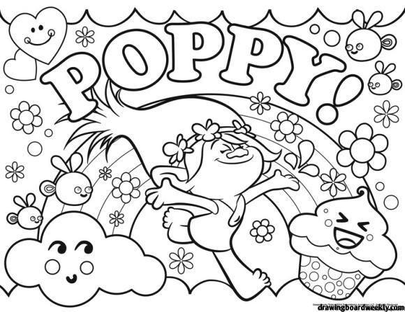 Dr Seuss Coloring Page Free In 2020 Poppy Coloring Page Cartoon Coloring Pages Coloring Pages
