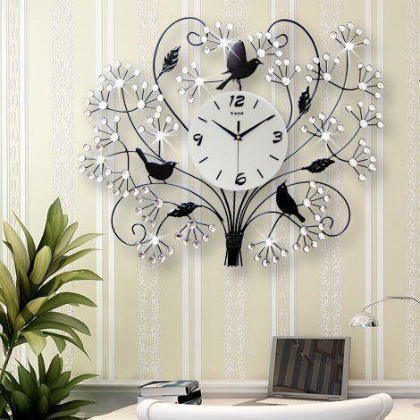 Die besten 25+ Large modern wall clocks Ideen auf Pinterest ...
