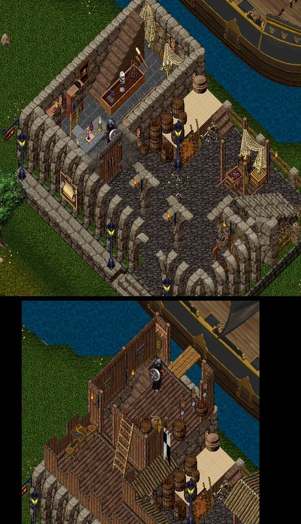 Escaflowne has left Ultima Online, but agreed to let me post his homes in my home tours to share thewonderfuldesigns he came up with while designing and decorating homes in Ultima Online.These h…