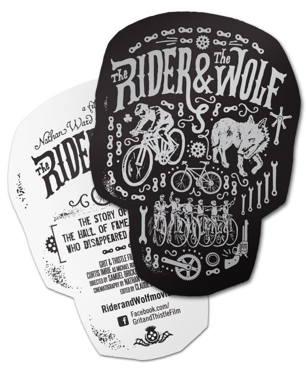 Captivating Such An Awesome Design And Presentation! Rider And Wolf