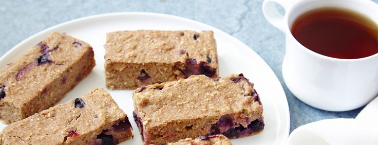 Vegan Granola Bar Recipe: Banana Blueberry Bars