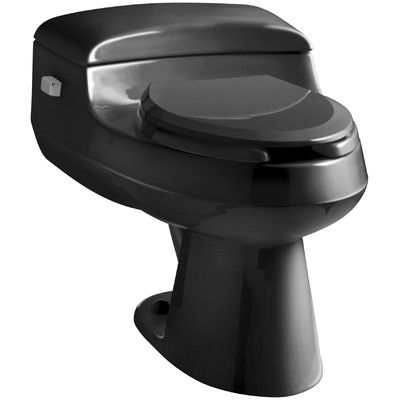 Kohler San Raphael Comfort Height One-Piece Elongated 1.0 GPF Toilet with Pressure Lite Flushing Technology, Includes Seat Finish: