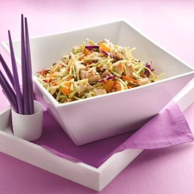 Scoopable Chinese Chicken SaladHungry Girls, Chicken Salads, Scoopabl Chinese, Chickensalad, Healthy Recipe, Chine Chicken, Chicken Salad Recipes, Chinese Chicken Salad, Chicken Breast