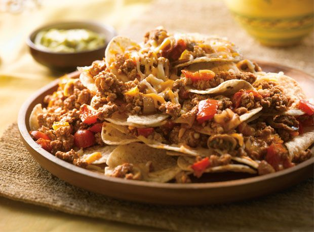 Double Cheese Turkey Nachos Supremos | Ontario Turkey