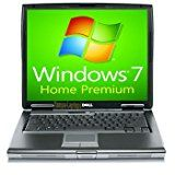 Dell Laptop Latitude D520 Notebook  1.66GHz  1GB RAM  60GB Hard drive  DVDCDRW  Windows 7 Home Premium