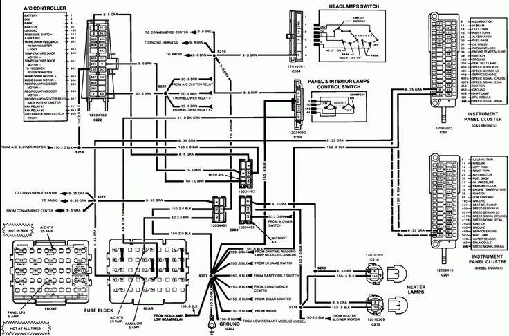 15  1984 Chevy Truck Wiring Diagram