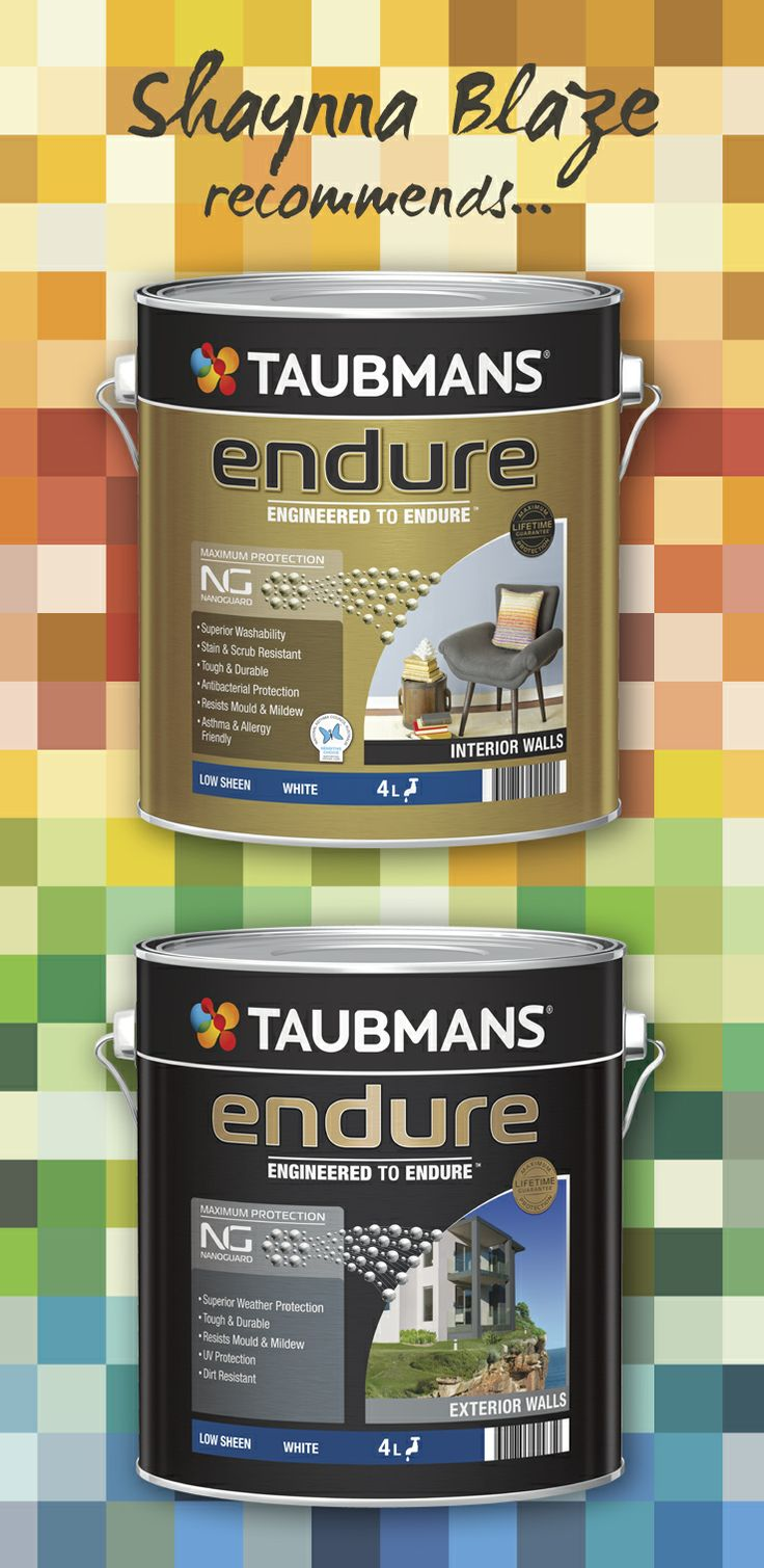 Feeling inspired? Recreate all the looks found on this board with the #Taubmans Endure range, available at #Bunnings