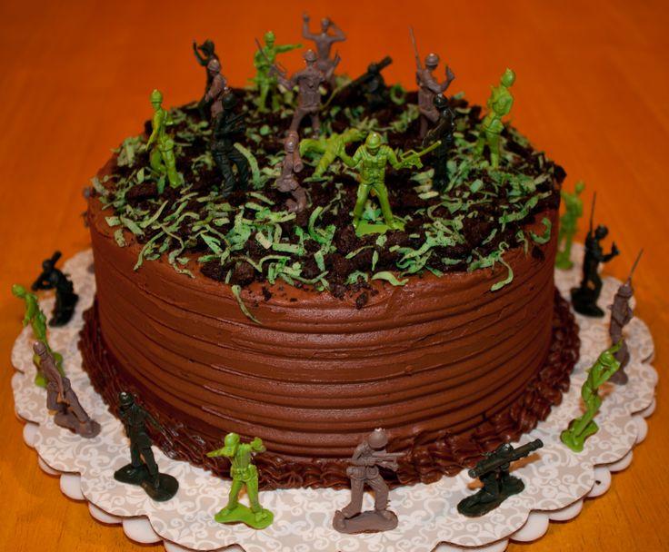 Army Man Birthday Cake Made by: Robin Blake