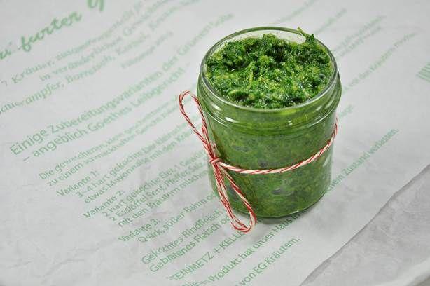 Frankfurter Grüne Soße Pesto
