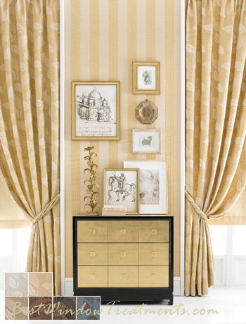 kale leaf drapery curtain panel has heavy woven fabric and with options
