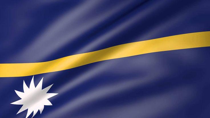 Nauru Animated Flag