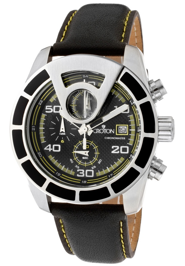 Price:$96.04 #watches Croton CC311276BSYL, With a royal appeal, this Croton timepiece has a regal design and adds a refined look to your wardrobe.