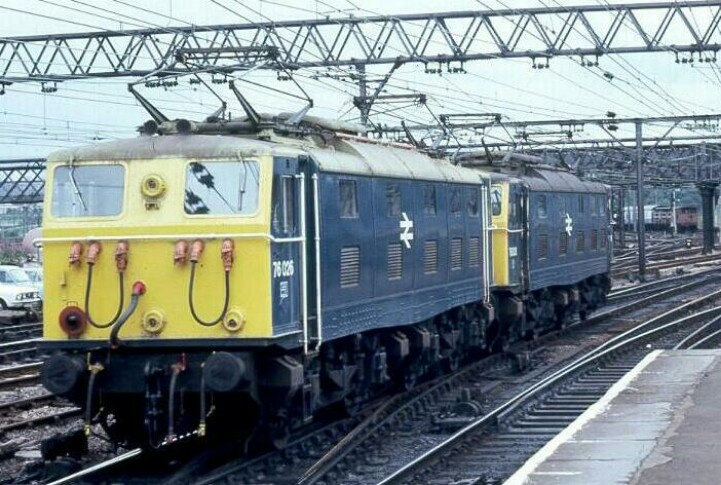 A pair of class 76's