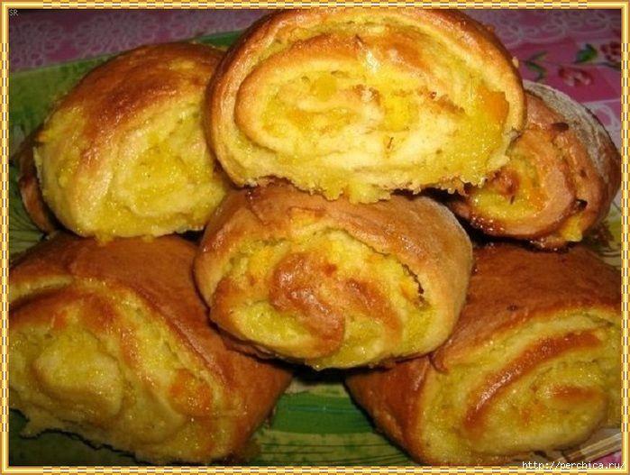 Обалденно вкусное апельсиновое печенье *Мякушка*