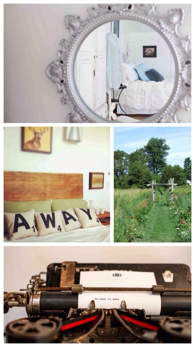 {Try} Get AWAY to Prince Edward County this spring!  AWAY to the County is a lovely B&B in Prince Edward County with fantastic views, in an idyllic spot where you can enjoy peace, quiet, good food, an encaustic paint studio, and much more!