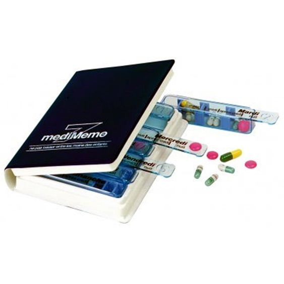Pilulier Hebdomadaire Medimemo - 15,00€ TTC
