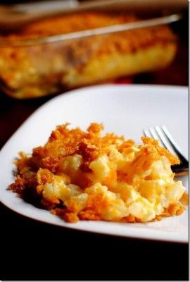 Thanksgiving Recipes - Party Potatoes Deluxe Recipe